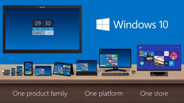 アップデートは完全無料!新OS「Windows10」 7月29日リリース