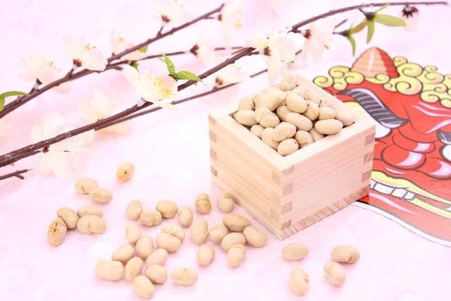 2月3日は節分です!豆まきしていますか?